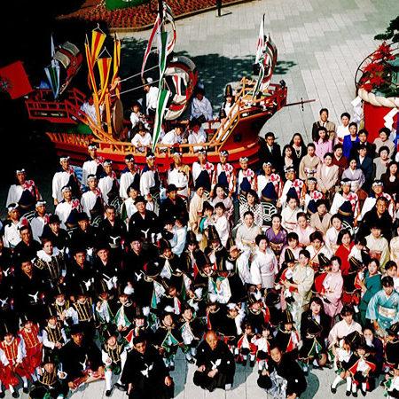 平成8年南蛮船担ぎ手メンバー